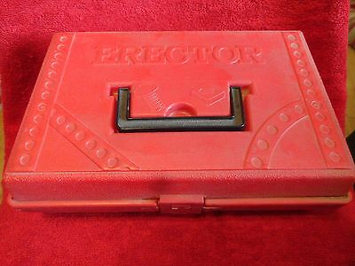GILBERT ERECTOR SET MODEL KIT IN CASE WITH MODEL BUILDING GUIDE