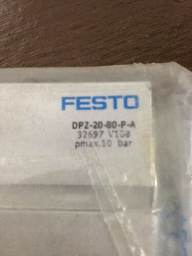 Festo DPZ-20-80-P-A Linear Guided Pneumatic Cylinder 20mm Bore 80mm Stroke