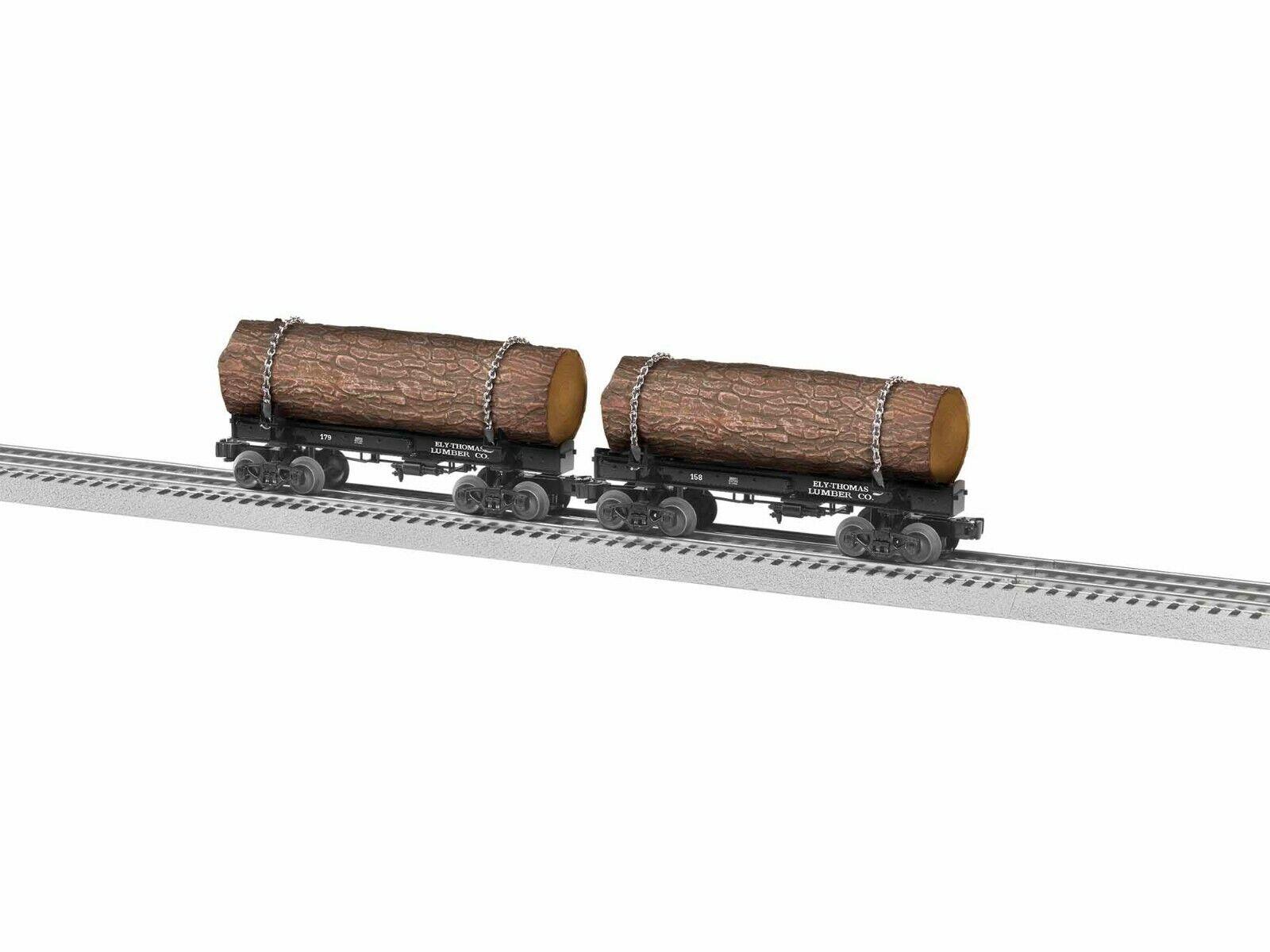 OGauge  Lionel  Ely Thomas Skeleton Log auto 2 Pack  2