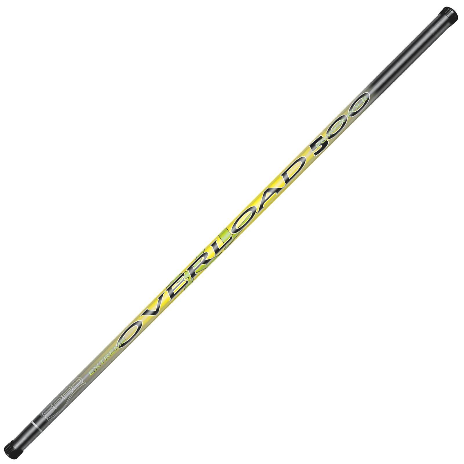 SPRO Overload Power Pole 500 600 700 Stipprute ohne Ringe Kopfrute Friedfisch
