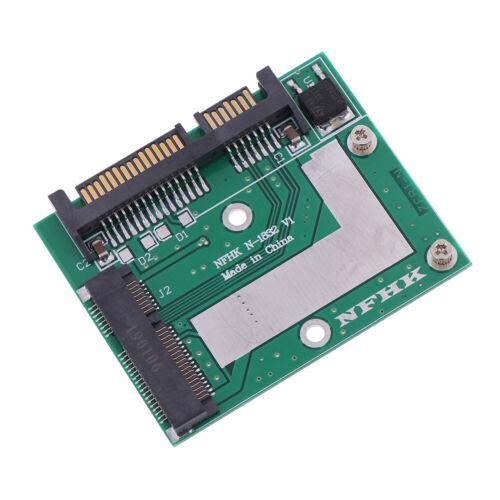 mSATA SSD to 2.5/'/' SATA 6.0gps adapter converter card module board mini pcie`sHK