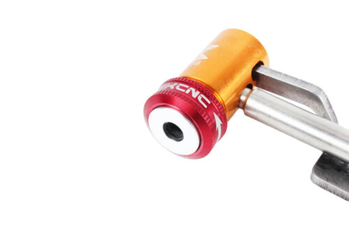 KCNC Road MTB Bike Presta Pump Valve Connector for Air Compressor-Tall Barrel