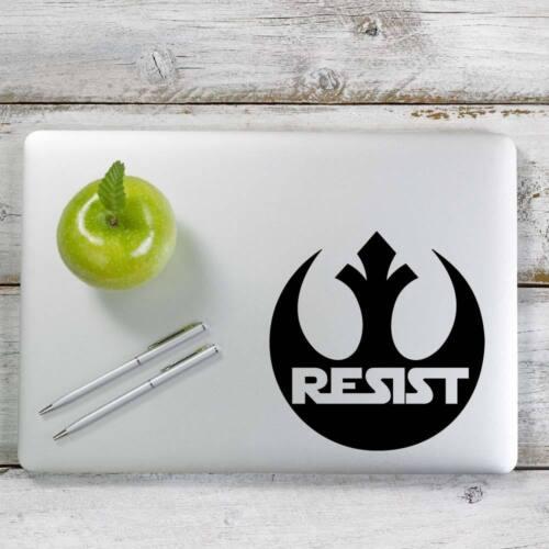 Laptop # 1053 Rebel Alliance Resist Star Wars Decal Sticker for Car Window