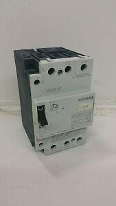 Siemens 3vu1600 1mh00 manual motor starter 600vac 3 phase for Siemens manual motor starter