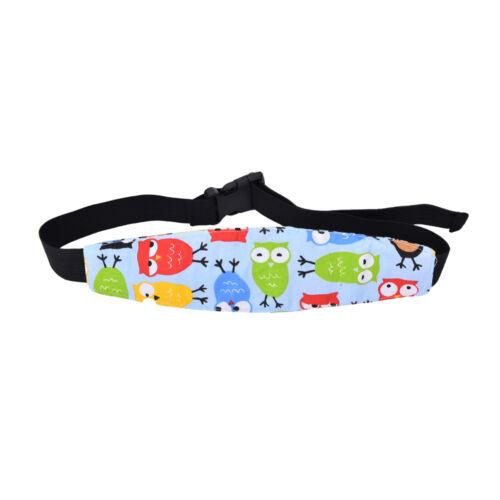 Safety Kids Stroller Car Seat Sleep Nap Aid Head Fasten Support Holder Belt FJ