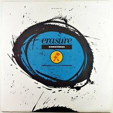 "Sometimes Limited Edition Remix - Erasure - Vintage 1980's Vinyl 12"" Single"