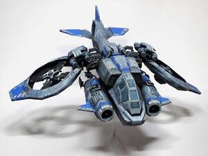 StarCraft-2-Terran-Human-Atttack-Vessel-Planetary-Craft-Banshee-Paper-Model-11cm