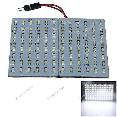1pcs White 96 3014 SMD LED Festoon Dome/Door/Box Light Panel Interior Bulb J409