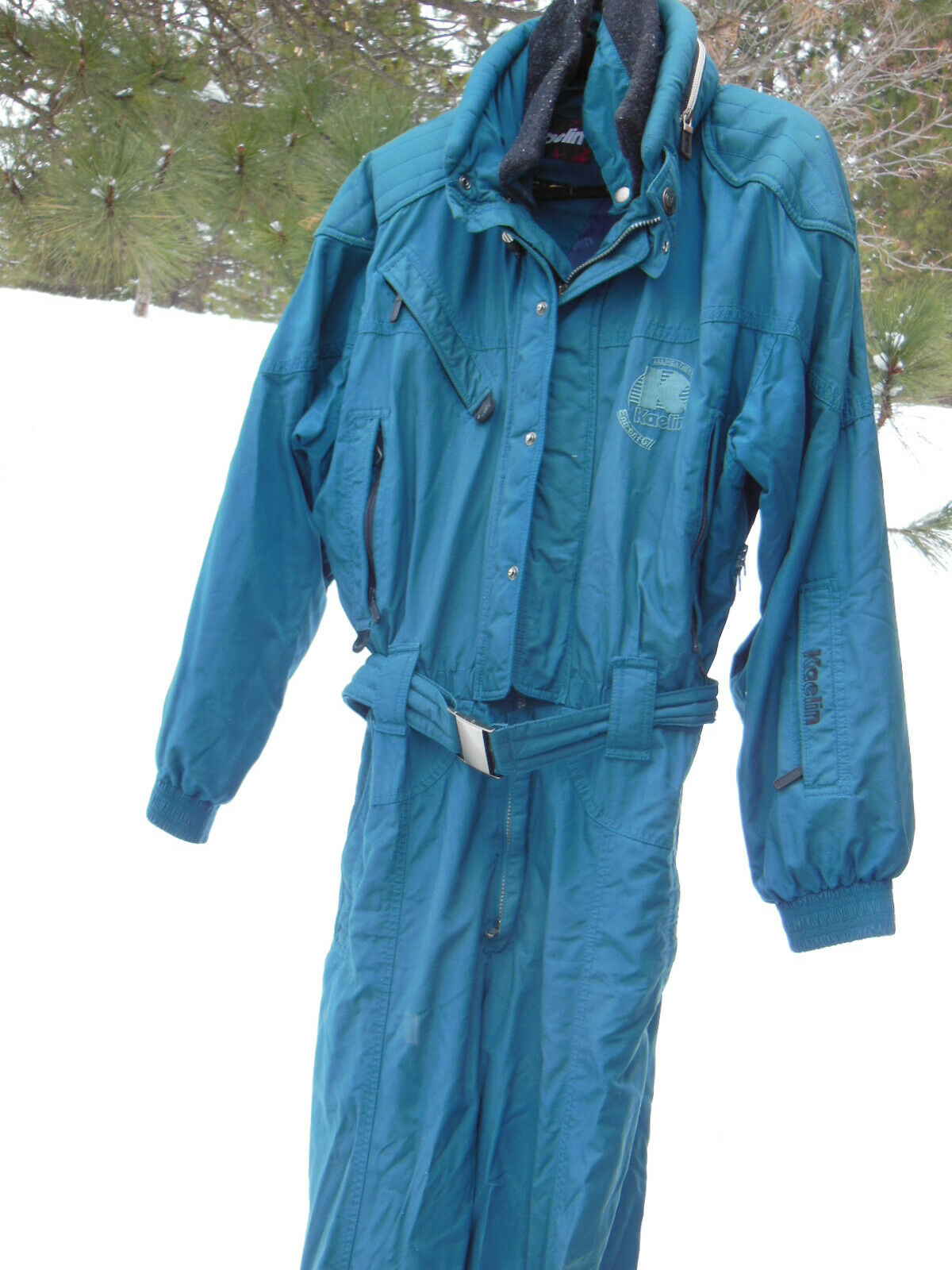 KAELIN Entrant GII Men's Ski Snowboard Snowmobiling JUMP SUIT Size  XL in Teal  hot sale online