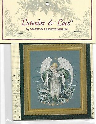 "Complete XStitch Materials /""ANGEL OF CHRISTMAS/""  by Lavender and Lace"
