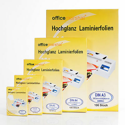 Super günstig Laminierfolien A3 A4 A5 A6 A7 Laminiertaschen Laminiergerät