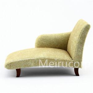 Dollhouse 1/12 Scale Miniature Furniture Elegant Fabric Sofa ...