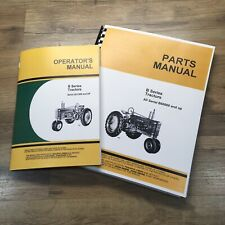 Operators Manual Parts Catalog Set For John Deere B Bn Bw Bwh Bnh Tractor Owners