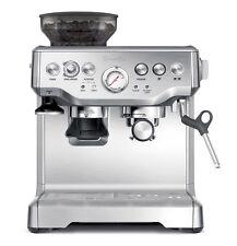 Breville Barista Stainless Steel Espresso Coffee Machine with Grinder BES870XL