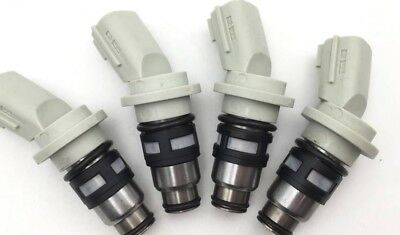 4pcs Fuel Injector A46-H02 16600-41B00 for Nissan March K11 92-03 1.0 1.3