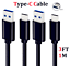 miniature 11 - OEM-Samsung-Galaxy-S10-S8-S9-Plus-Fast-Wall-Charger-3-6-10-FT-USB-C-Type-C-Cable