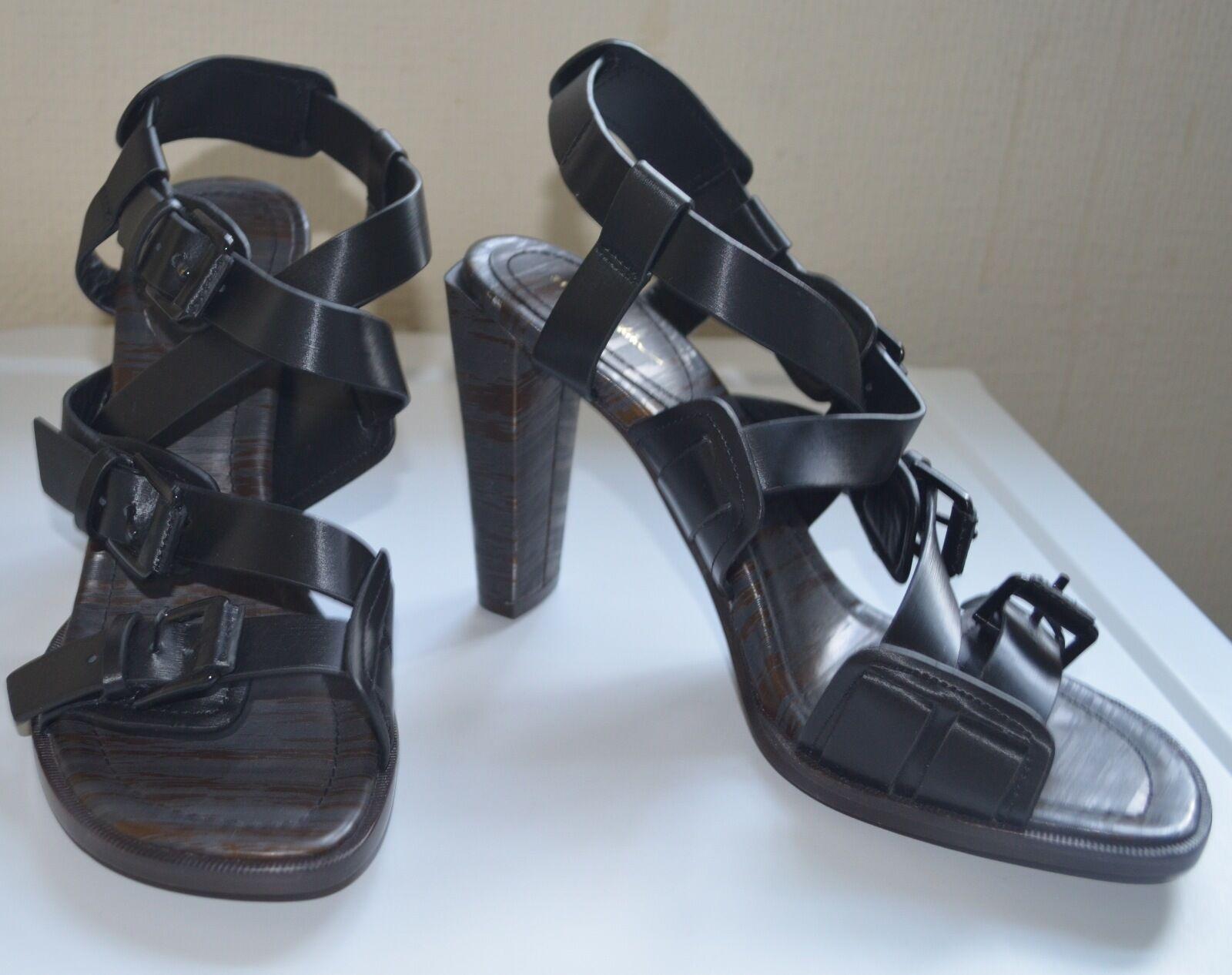 3.1 Nero PHILLIP LIM con Cinturini Nero 3.1 Sandalo Tacco Alto UK6.5/EU39.5, prezzo consigliato 469cbb