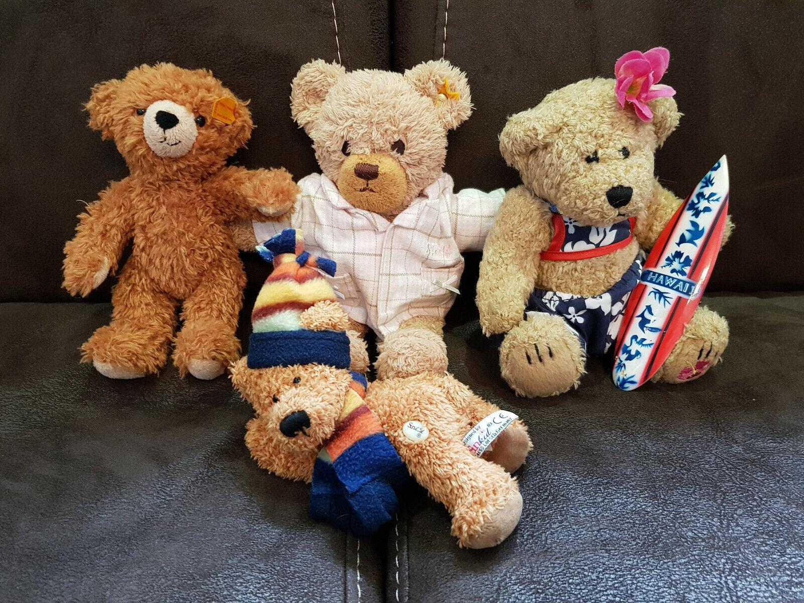Joblot tedi bear steif and more 4ps vintage