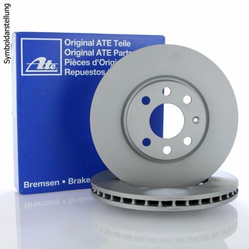 2x ATE Bremsscheibe Bremsscheiben Satz Bremsen Vorne 24.0128-0191.1