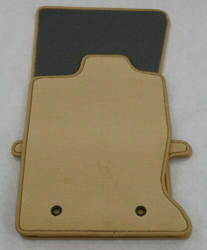 HELLBEIGE Lengenfelder Premium Velours Fußmatten für Jaguar XK XKR X150 NEU