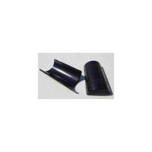 Spessore manubri da 22.2 a 25.4 mm nero