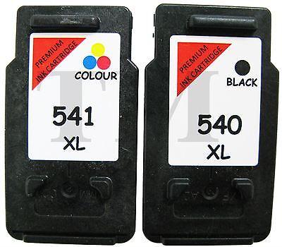 PG540XL Schwarz & CL541XL Farbe Wiederaufbereitetes Druckerpatronen Canon MG2100