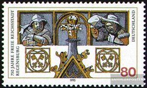 BRD-BR-Deutschland-1786-kompl-Ausg-postfrisch-1995-750-Jahre-Regensburg