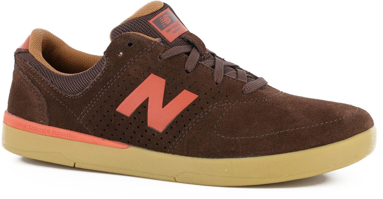 Para hombre New Balance numérico Pj Stratford Stratford Stratford Skateboarding Zapatos de punta en ante marrón 659423