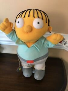 Ralphie Plush The Simpson 12inches With Stand Hot Topic New With Tag Animation