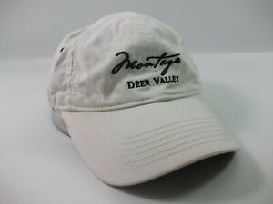 Montage-Deer-Valley-Hat-White-Strapback-Baseball-Cap