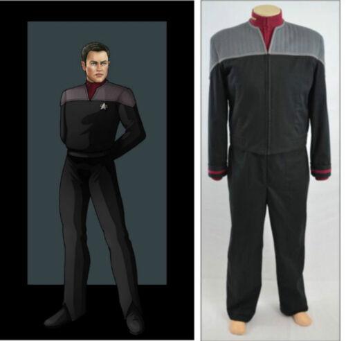 Star Trek First Contact captain Starfleet uniform cosplay costume custom made FF