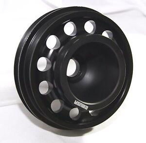 BLACK-Crank-Pulley-for-D-SERIES-SOHC-92-95-Civic-93-95-Civic-Del-Sol