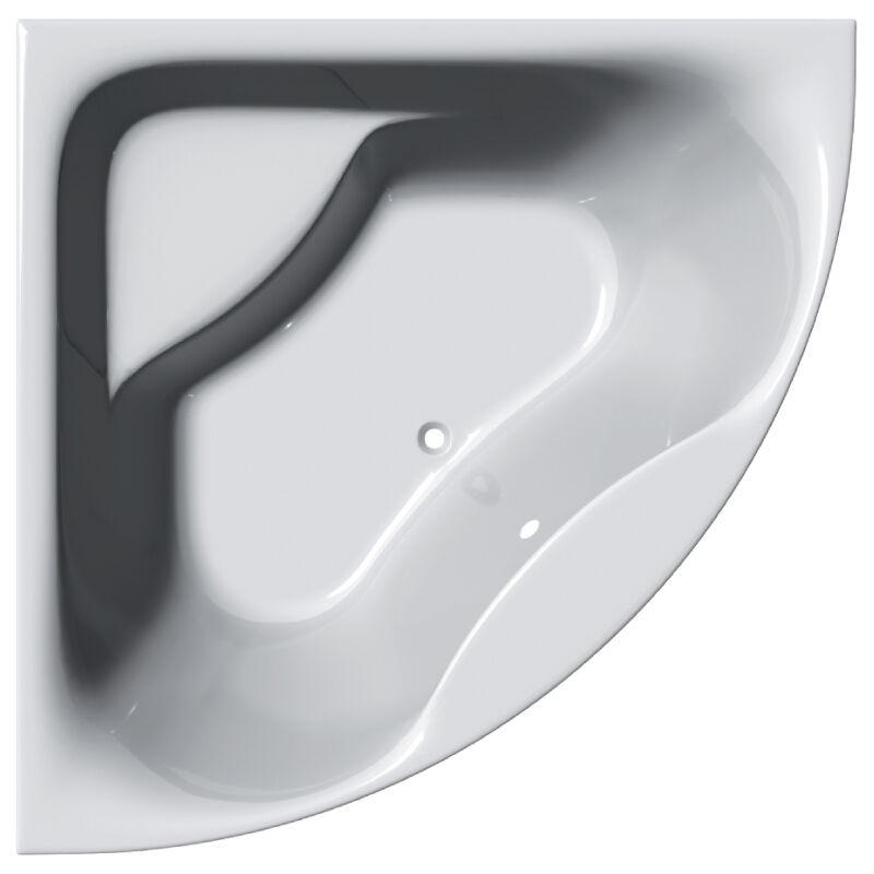 Paris 1400mm Luxury Acryl Corner Bathbtub & Curved Front Panel Bath