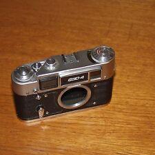 FED 4 USSR CCCP 35mm film RANGEFINDER camera body faulty for repair