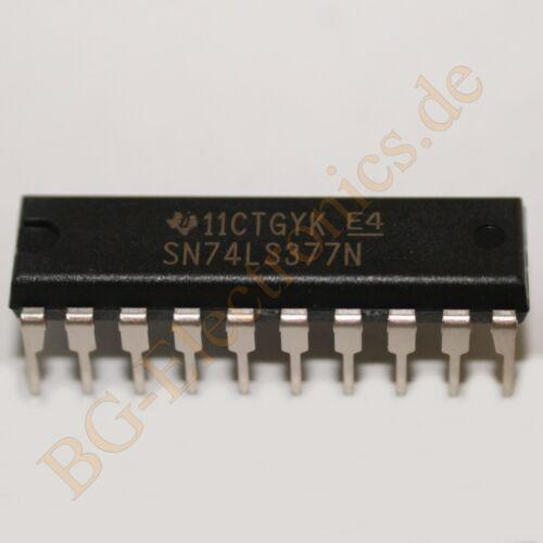 non inv TI DIP-20 5pcs 5 x SN74LS377N 8-Bit D-type Register with Clockenable