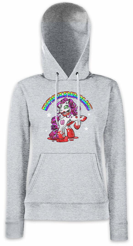 Brainbows III Women Hoodie Sweatshirt Unicorn Zombie Brains Fun Nerd Unicorns