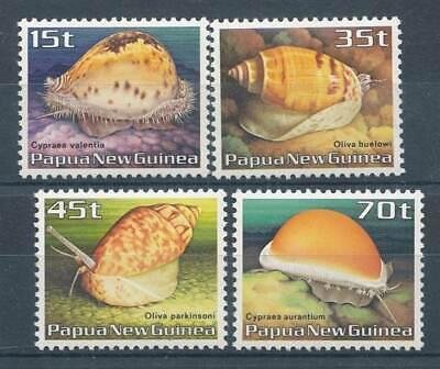 Australien, Ozean. & Antarktis Papua Neuguinea Nr.516-9** Meeresschnecken Diversifizierte Neueste Designs Sonstige Verantwortlich 216846