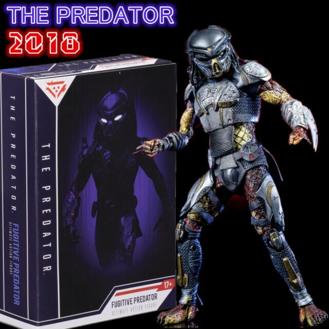 NECA The Predator Light up LED Mask Ultimate Action Figure Lab Escape Gift  Toy