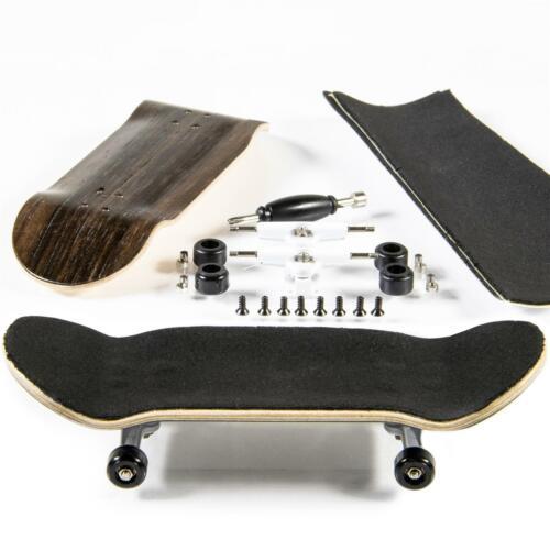Design 4 inclus Outil PhoneNatic Doigt-Skateboard Bauset en marron foncé