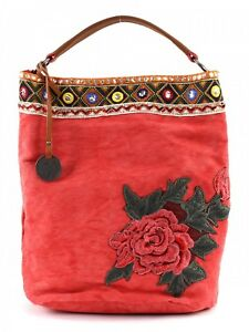 SURI-FREY-Bolso-De-Bandolera-Tammy-Hobo-Bag-L-Red