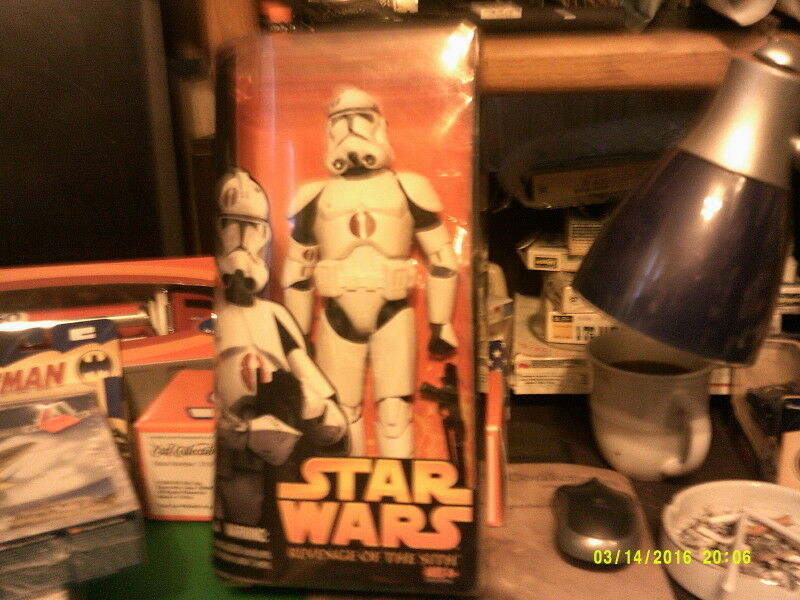 Star Wars E3 TF02 CLONE TROOPER-FREE SHIPPING