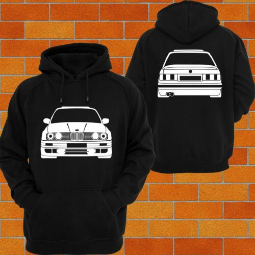 BMW e30 Front and Back Hoodie or Tshirt Singlet Muscle Tee