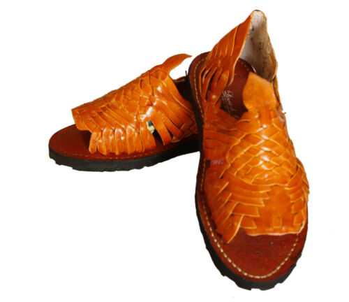 Ladies Genuine Leather Mexican Design Sandals Best Price $19.99