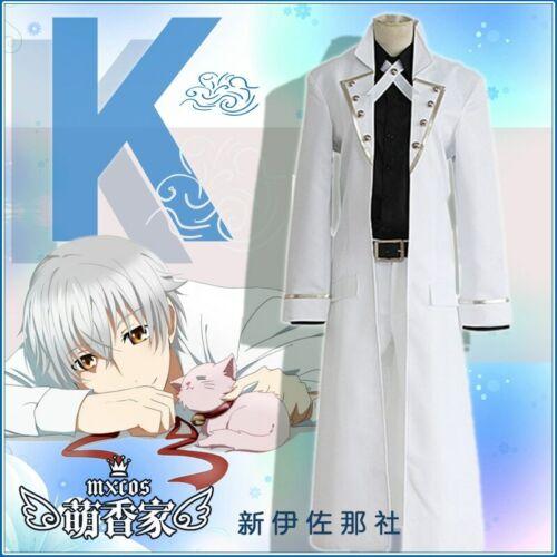K Project RETURN OF KINGS Yashiro Isana Clothing Cosplay Costume