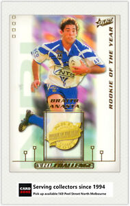 Image Is Loading 2002 Select NRL Challenge Card Dally M DM3