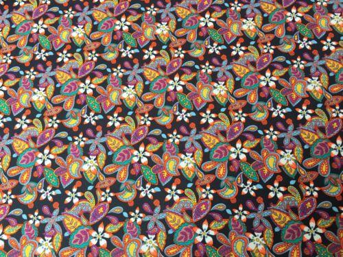 Liberty Tana Lawn-Citron fleurs A 100/% Tissu De Coton-Toutes Les Tailles
