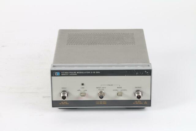 HP Hewlett Packard / Agilent 11720A Pulse Modulator 2-18 GHz- Power Light Broken