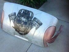 Ezgo custom front body cowl skull golf cart piston head