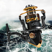 13+1bb Ball Bearing Saltwater Freshwater Fishing Spinning Reel 5.5:1 Bait Feeder