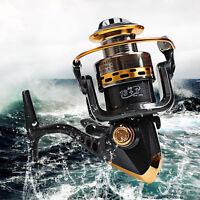 Outdoor Spinning Fishing Reel 13+1bb 5.5:1 Saltwater Freshwater Bait Feeder Reel